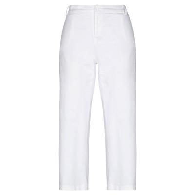 リュー ジョー LIU •JO カプリパンツ ホワイト 44 コットン 98% / ポリウレタン 2% カプリパンツ