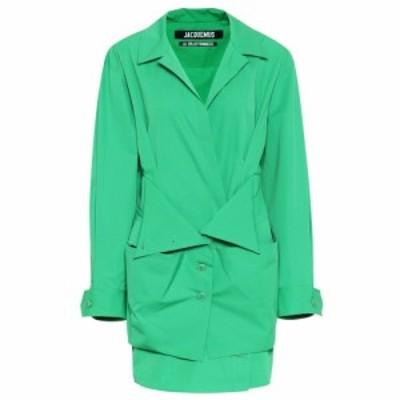 ジャックムス Jacquemus レディース ワンピース ワンピース・ドレス la robe murano cotton dress Green