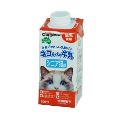 ドギーマン [取寄10]ハヤシペットの牛乳高齢猫200ml [4974926010343]