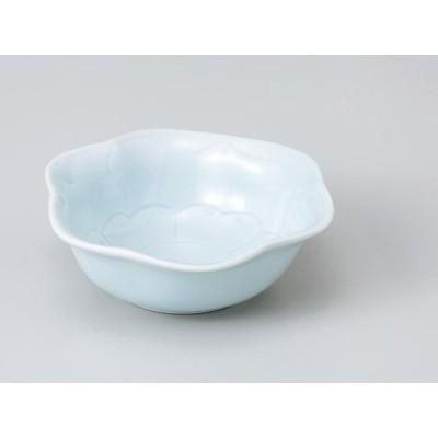 和食器 小付 珍味 小鉢 /青磁 花型小付 /陶器 業務用 家庭用 Small Appetizer Bowl