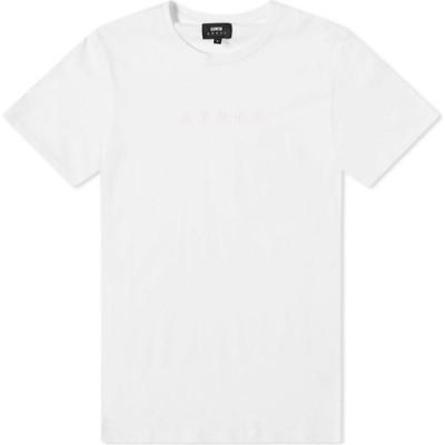 エドウィン Edwin メンズ Tシャツ トップス katakana embroidery tee White