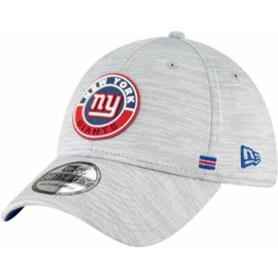 ニューエラ メンズ 帽子 アクセサリー New Era Men's New York Giants Sideline Road 39Thirty Stretch Fit Hat