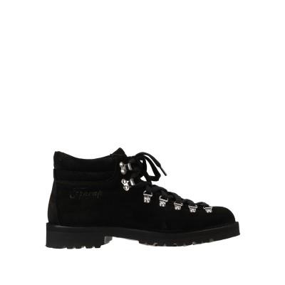 FRACAP ショートブーツ ブラック 36 革 100% ショートブーツ