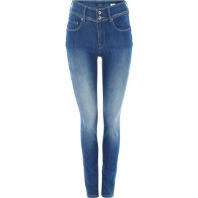 サルサ Salsa レディース ジーンズ・デニム ボトムス・パンツ Secret Push-In Skinny Jeans Denim Mid Wash