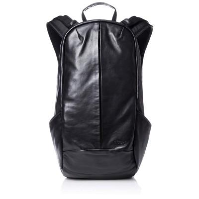 [アフェクタ] リュック SMOOTH BAG PACK LEATHER ver 撥水加工 A4収納 Black One Size