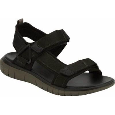 ドッカーズ メンズ サンダル シューズ Men's Dockers Soren Active Sandal Black/Grey Nylon Webbing