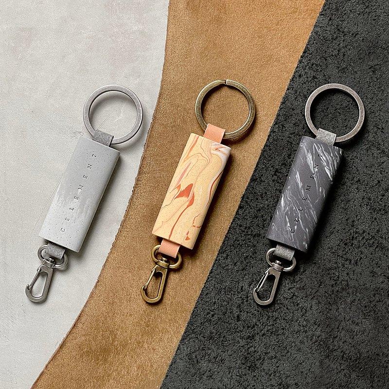 軟水泥鑰匙圈2 - 軟水泥手作系列