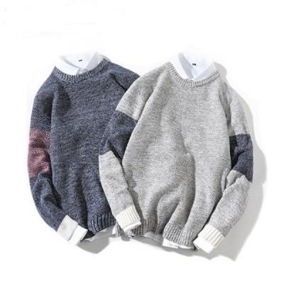 ニット メンズ レディース セーター かわいい クルーネック トップス 秋冬物 春物