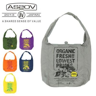 AS2OV アッソブ FOOD FORCE OREGON official eco bag S フードフォースオレゴンオフィシャルエコバッグ 152021 【カバン/コンパクト】【メール便・代引不可】