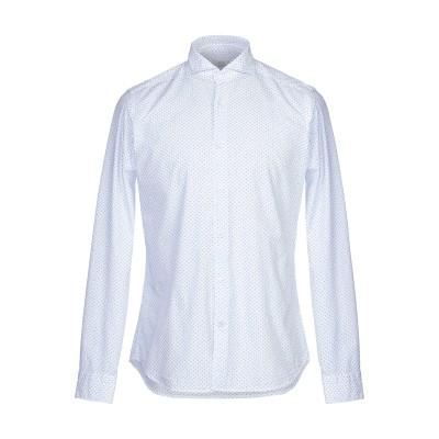 カリバン CALIBAN シャツ ホワイト 37 コットン 100% シャツ