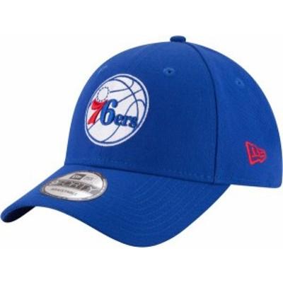 ニューエラ メンズ 帽子 アクセサリー New Era Men's Philadelphia 76ers 9Forty League Adjustable Hat