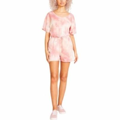 マッデン ガール Madden Girl レディース オールインワン ワンピース・ドレス Flutter Sleeve Romper Pale Blush