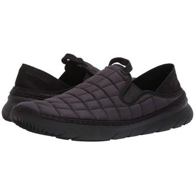 メレル Hut Moc メンズ スニーカー 靴 シューズ Triple Black