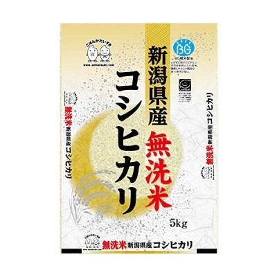 お米 BG無洗米 新潟県産コシヒカリ 5kg 令和2年産
