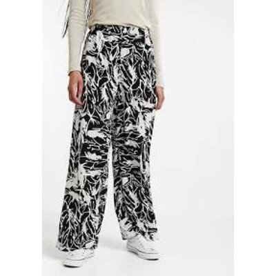 Weekday レディースパンツ Weekday ACT TROUSERS - Trousers - inkflower ink
