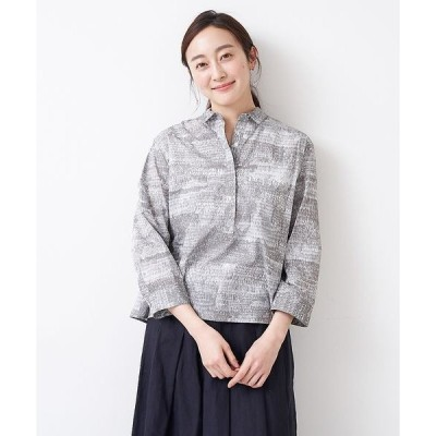 collex / コレックス 【STAMP AND DIARY】 シャツカラープルオーバーシャツ