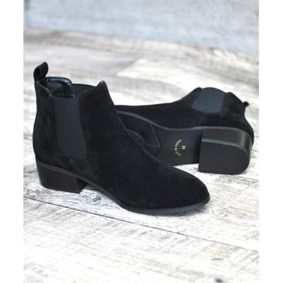 ZealMarket/SFW / 美シルエット 歩きやすい美脚サイドゴアブーツ WOMEN シューズ > ブーツ