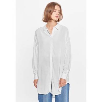 ソフト レベルス レディース シャツ トップス SRFREEDOM - Button-down blouse - 002 snow white / off white 002 snow white / off whit