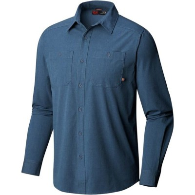 (取寄)マウンテンハードウェア ツイル ロングスリーブ シャツ - メンズ Mountain Hardwear Riveter Twill Long-Sleeve Shirt - Men's Zinc