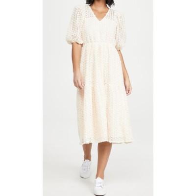 エンドレスローズ endless rose レディース ワンピース ティアードドレス ワンピース・ドレス Tiered Boho Dress Ivory