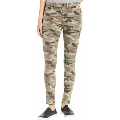 ハドソンジーンズ Hudson Jeans レディース ジーンズ・デニム スキニー ボトムス・パンツ Barbara High-Waist Super Skinny Ankle in Worn Camo Worn Camo