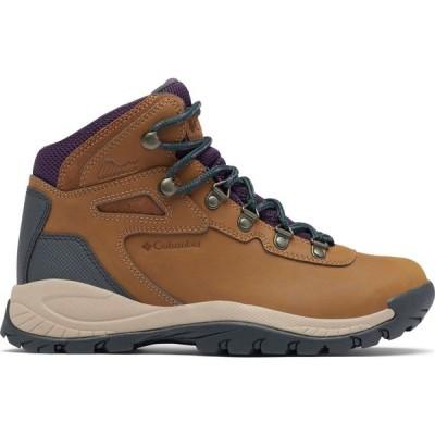 コロンビア Columbia レディース ハイキング・登山 ブーツ シューズ・靴 Newton Ridge Plus Hiking Boots Light Brown/Cyber Purple