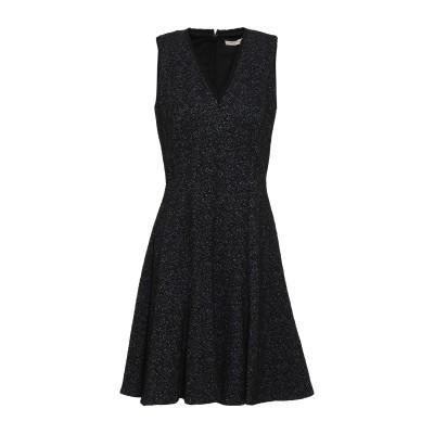 レベッカ・テイラー REBECCA TAYLOR ミニワンピース&ドレス ブラック 8 コットン 58% / ポリエステル 40% / ポリウレタン