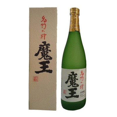 芋焼酎 (魔王蔵特製桐箱付き) 魔王 25度 720ml