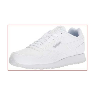 Reebok Womens Classic Harman Run Sneaker, white/steel, 9 M US【並行輸入品】