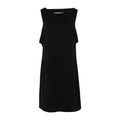 リュー ジョー LIU •JO ミニワンピース&ドレス ブラック 42 レーヨン 98% / ポリウレタン 2% ミニワンピース&ドレス