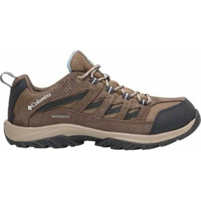 コロンビア レディース スニーカー シューズ Women's Columbia Crestwood Waterproof Hiking Shoe Pebble/Oxygen