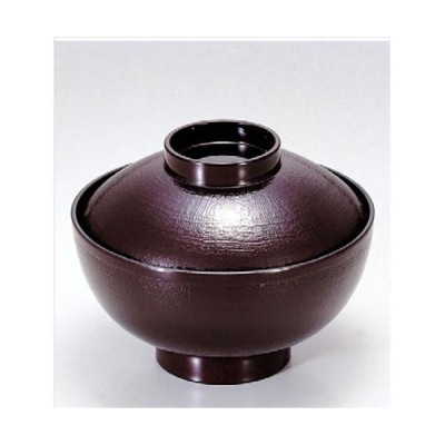 汁椀 4寸布目吸椀 溜 食洗器 洗浄機 使用可能 寸法: 12φ x 9.2cm 入数: 100個