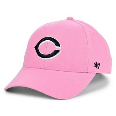 47ブランド メンズ 帽子 アクセサリー Cincinnati Reds Pink Series Cap Rose
