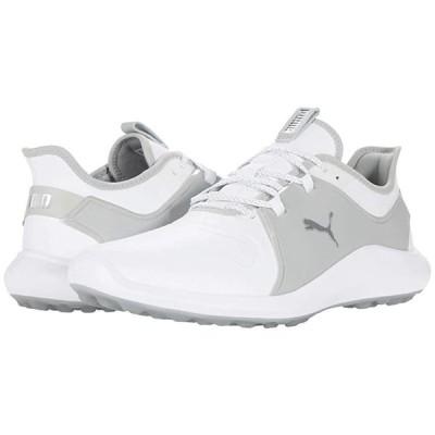 プーマ Ignite Fasten8 Pro メンズ スニーカー 靴 シューズ Puma White/Puma Silver/High-Rise