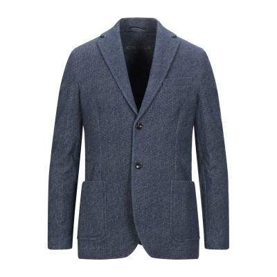 チルコロ 1901 CIRCOLO 1901 テーラードジャケット ブルー 46 コットン 95% / ポリウレタン 5% テーラードジャケット