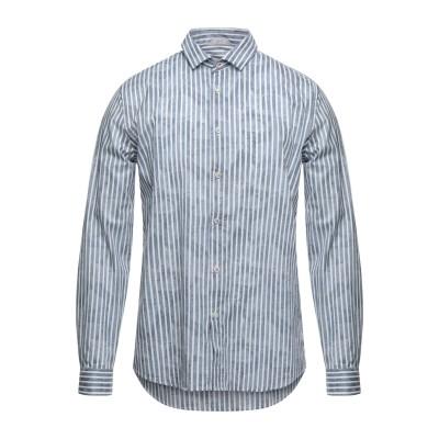 SSEINSE シャツ ブルーグレー S コットン 100% シャツ