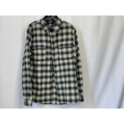 RRL Ralph Lauren プラッド コットンウール ワークシャツ MNRRWOV16810187