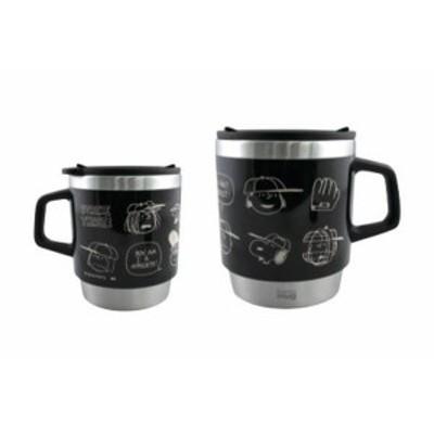 【スヌーピー】【SNOOPY】サーモマグ 【BASEBALL】【thermo mug】【マグカップ】【グッズ】【マグ】【保温】【保冷】【カップ】【ピーナ