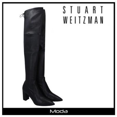 スチュアートワイツマン ブーツ レディース 黒 ブラック Stuart Weitzman 靴