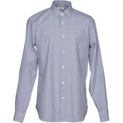 マウロ グリフォーニ MAURO GRIFONI シャツ ダークブルー 39 コットン 100% シャツ