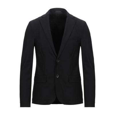 エンポリオ アルマーニ EMPORIO ARMANI テーラードジャケット ブラック 48 バージンウール 95% / ポリウレタン 5% テーラー
