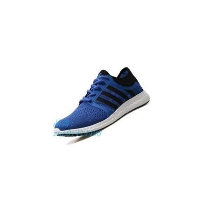 メンズジョギングマラソンランニングシューズスポーツシューズ靴通学ブラックブルーグリーングレイ