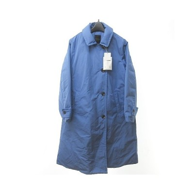 【中古】未使用品 ダーマコレクション dama collection ダウンジャケット トレンチコート ダウンコート 水色 ブルー系 154-162 M 0810 NST レディース