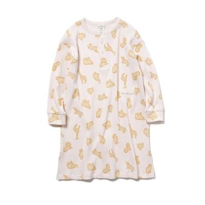 ジェラートピケ キッズアンドベイビー gelato pique Kids&Baby 【KIDS】 クッキーアニマルモチーフ kids ドレス (PNK)