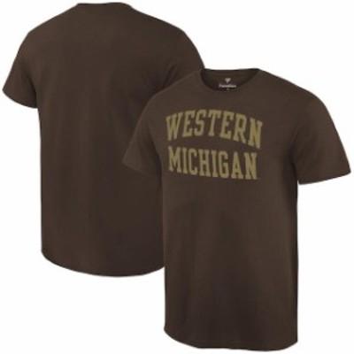 Fanatics Branded ファナティクス ブランド スポーツ用品  Fanatics Branded Western Michigan Broncos Brown Basic Arch Expansion T-Sh