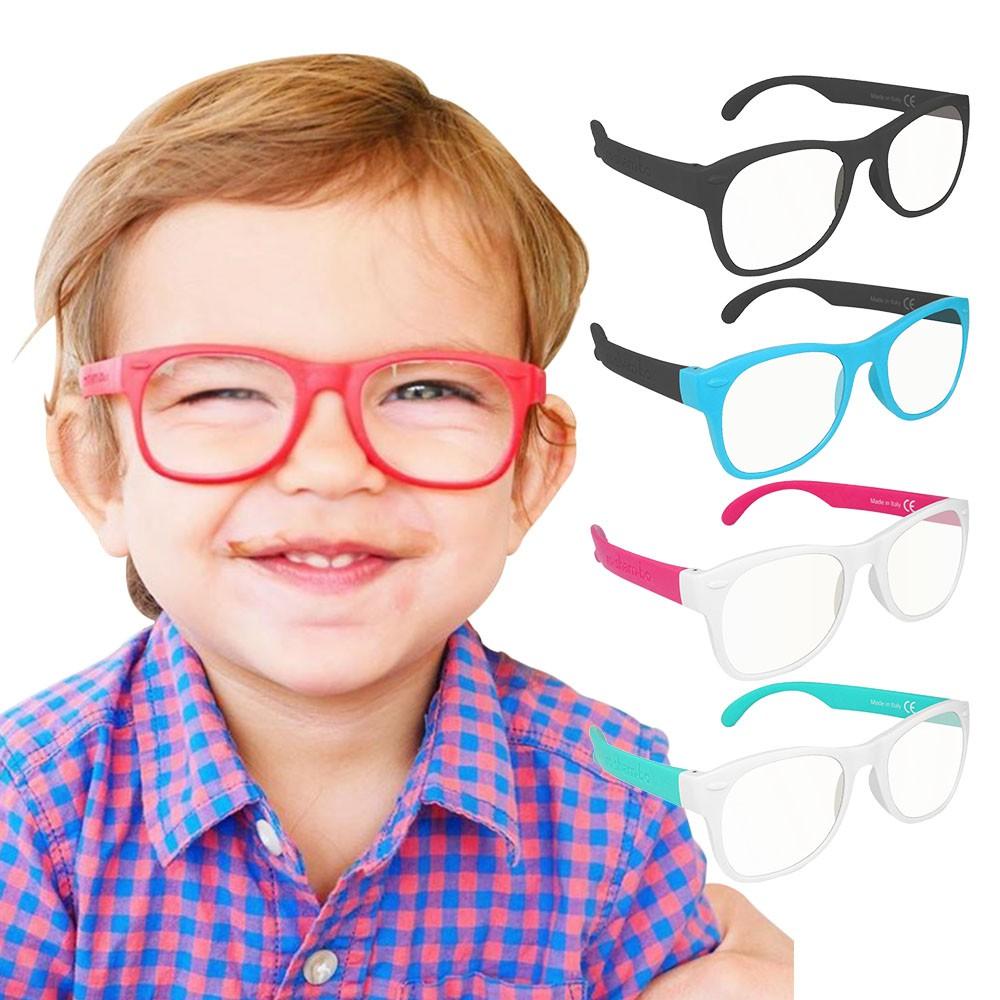 【美國Roshambo】兒童抗藍光眼鏡-繽紛視界 抗藍光 護眼 保護眼睛 兒童眼鏡(LAVIDA官方直營)