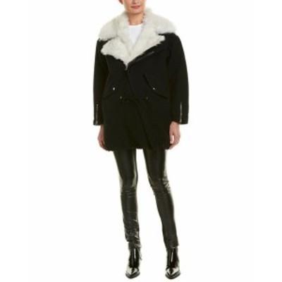 IRO イロ ファッション 衣類 Iro Wool-Blend Coat 42 Black