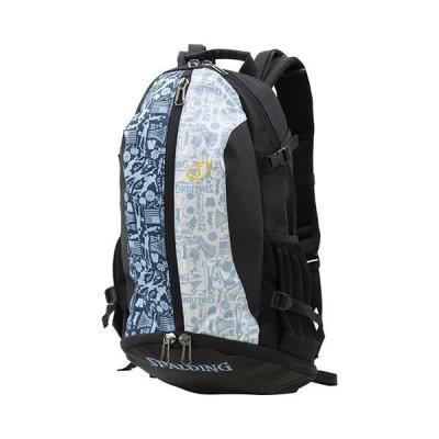 SPALDING Cager Bag(スポルディング ケイジャー バッグ ) グラフィティ サックス