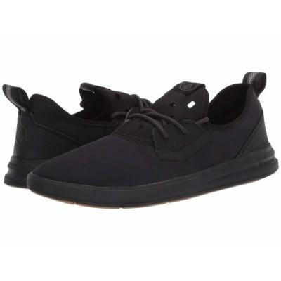 ボルコム スニーカー シューズ メンズ Draft Eco Shoes Black Destructo