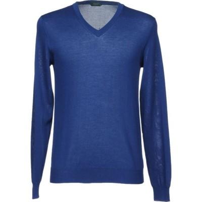 ザノーネ ZANONE メンズ ニット・セーター トップス sweater Blue